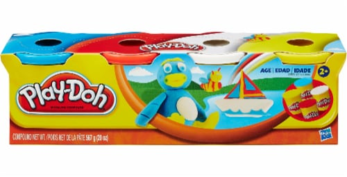 Hasbro Play-Doh Classic Colors Set Perspective: front