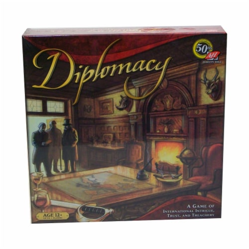 Avalon Hill Diplomacy Board Game Perspective: front