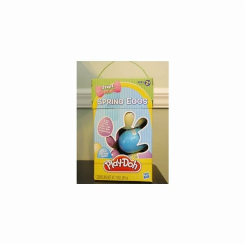 Play-Doh Seasonal Spring Eggs Perspective: front