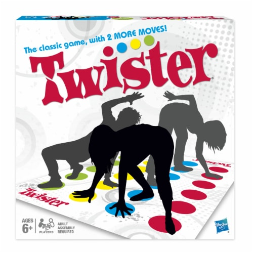 Hasbro Twister Game Perspective: front