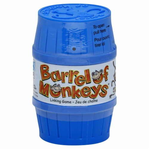Hasbro Barrel Of Monkeys Perspective: front