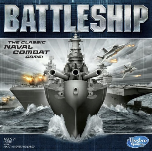 Hasbro Battleship Board Game Perspective: front