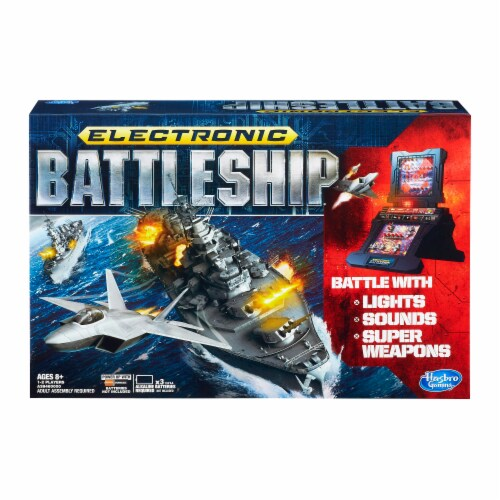 Hasbro Electronic Battleship Board Game Perspective: front