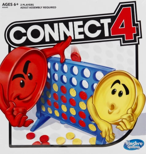 Hasbro Gaming Connect 4 Game Perspective: front