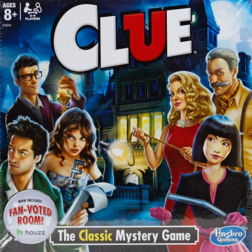 Hasbro Clue Board Game (2013 Edition) Perspective: front