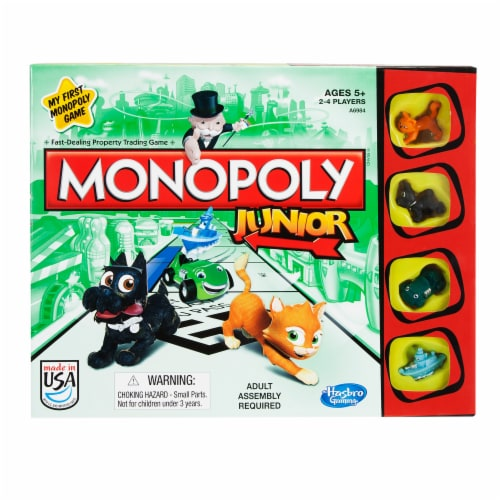 Hasbro Monopoly Junior Perspective: front
