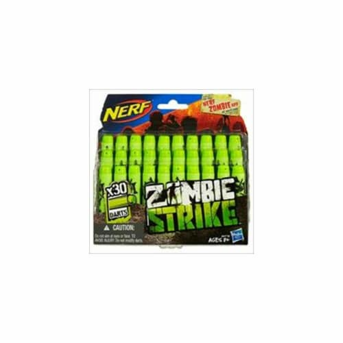 Nerf Zombie Strike Darts - Green Perspective: front