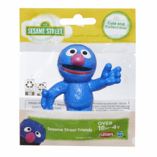 Playskool Sesame Street Grover Figure Perspective: front