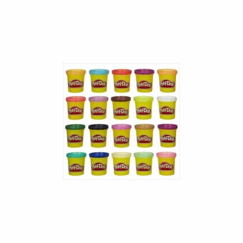 Hasbro Play-Doh Super Color Pack - Multi Perspective: front