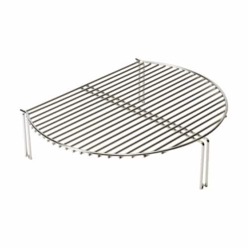 BJ-SCS Grill Expander  Stainless Steel - 280 Square in. Perspective: front