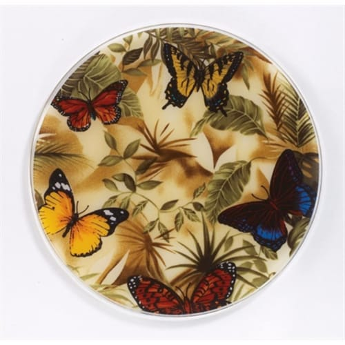 Butterflies Silicone Trivet - Pack of 3 Perspective: front