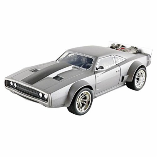 Doms Ice Charger Vehicle Model Car Perspective: front
