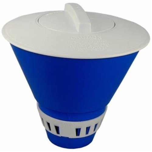 JED 10-450 Floating Chlorine Tablet Dispenser Perspective: front