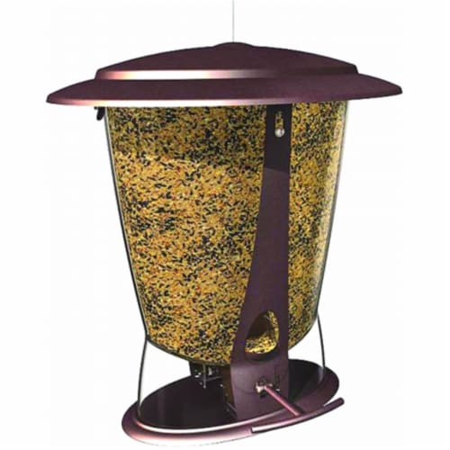 Squirrel X-2 Proof Bird Feeder 4 Lb Capacity Perspective: front