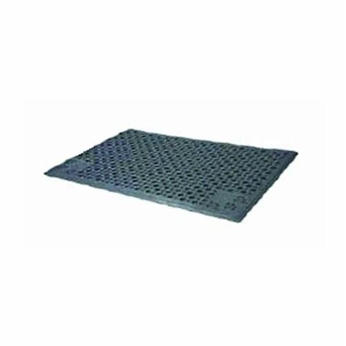 Petlinks Purr-Fect Paws Litter Mat-Medium 23.3''X14.96''-Gray49507 Perspective: front