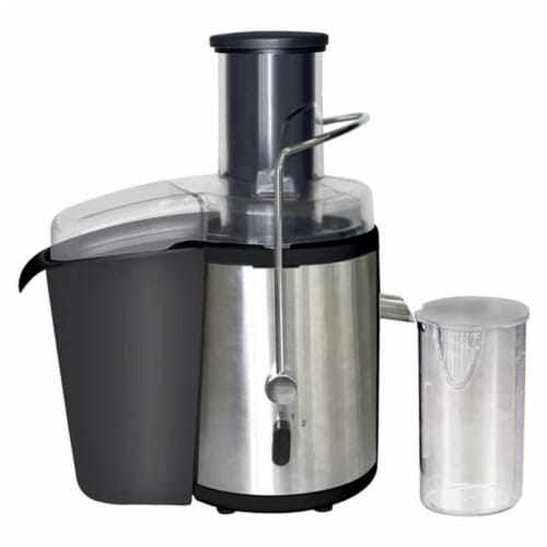 Stainless Body Power Juice Extractor 700W Perspective: front