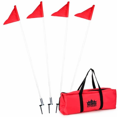 Soccer Corner Flags, pack of 4 Perspective: front