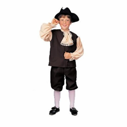 Rubies Costume Co 11087 Colonial Boy Costume Size Small Perspective: front