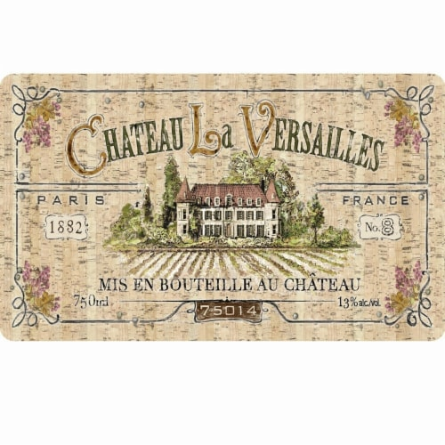 Kitchen Mat - Chateau Versailled Perspective: front