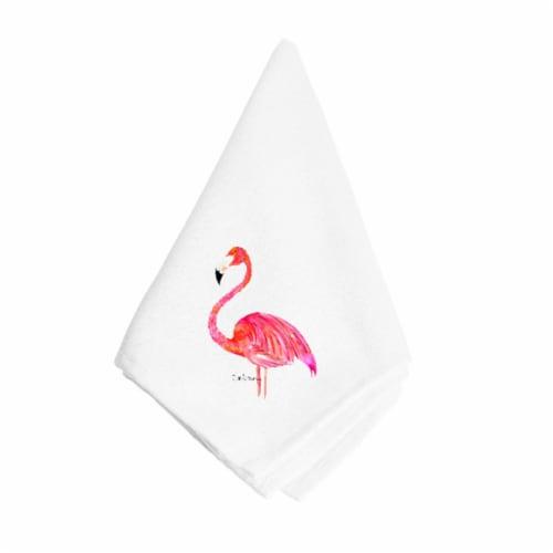 Flamingo Napkin Perspective: front