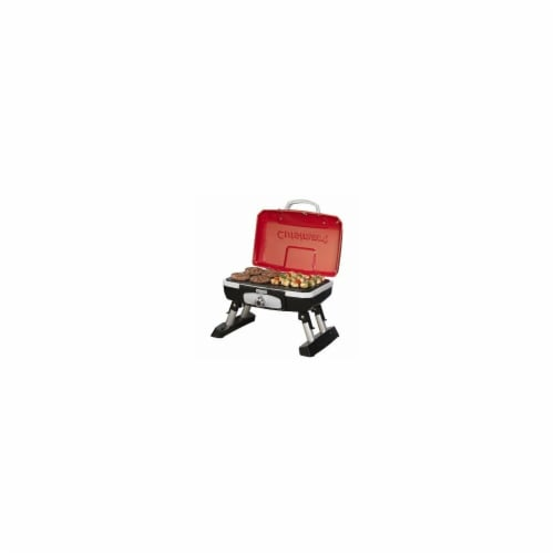 Petit Gourmet Portable Tabletop Gas Grill Perspective: front