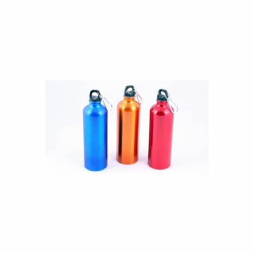 Aluminum Water Bottle - 25 oz Case of 24 Perspective: front