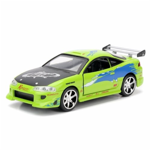 Brians 1995 Mitsubishi Eclipse Fast & Furious Movie 1by32 Diecast Model Car Perspective: front