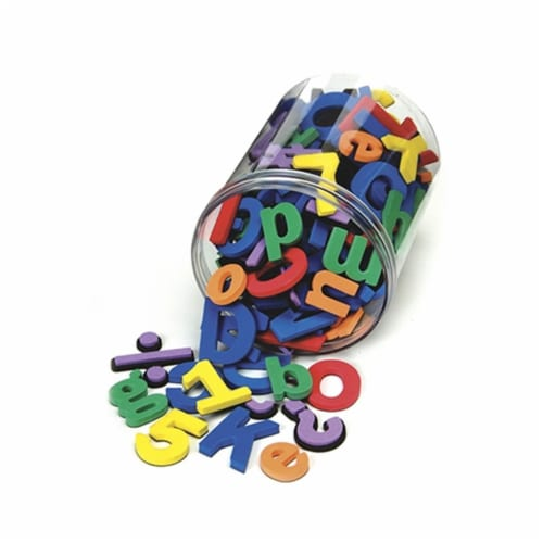 Wonderfoam Magnetic Letters Perspective: front