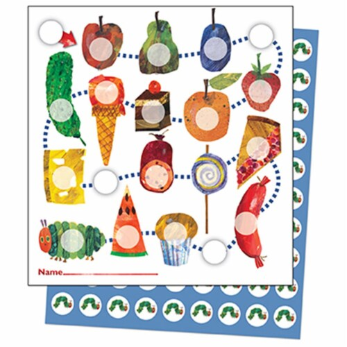 The Very Hungry Caterpillar Mini Incentive Charts Perspective: front
