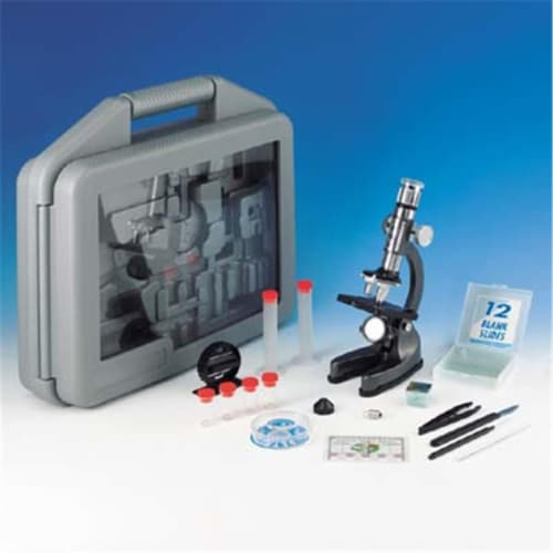 Microscope Set In Carrying Case Perspective: front