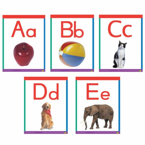 Alphabet Frieze Cards Perspective: front