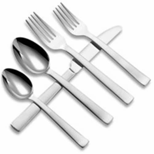 Norse- 18-10 Stainless- All Satin Finish 20PC Set Perspective: front