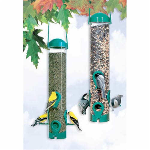 Assembled Wild Bird & Finch Feeder Perspective: front