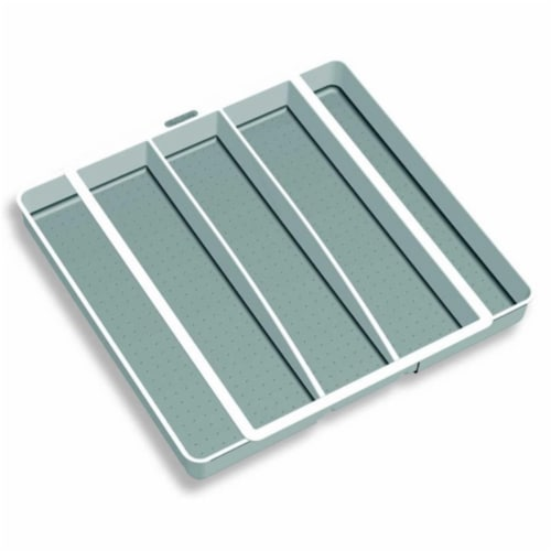 Expandable Utensil Tray Perspective: front