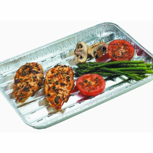 Onward   3 Pack Aluminum Grilling Trays Perspective: front
