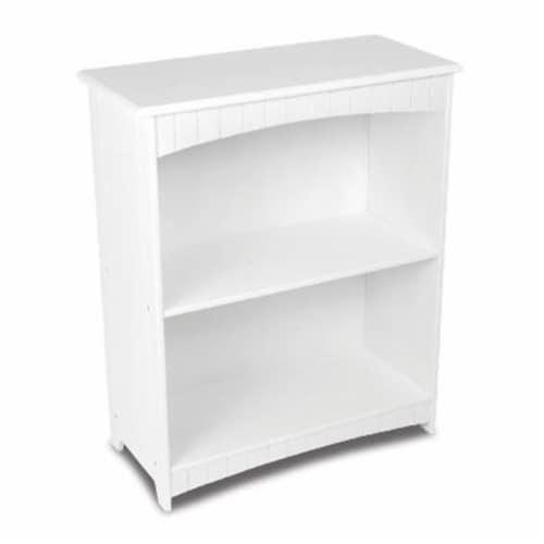 Nantucket 2-shelf Bookcase Perspective: front