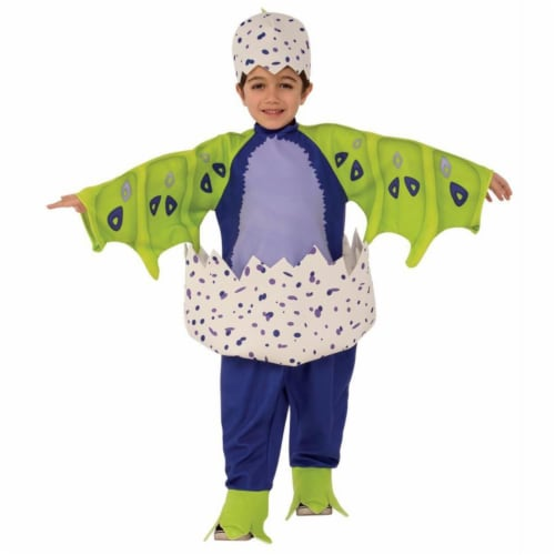 Extra Small Draggles Hatchimal Costume, Dark Purple - 3T-4T Perspective: front