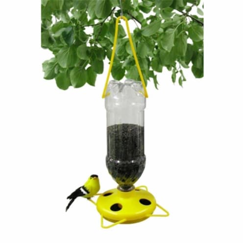Soda Bottle Thistle Feeder - 2pk Perspective: front