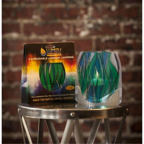 Lumizu Expandable Luminary Lantern Heedo Perspective: front