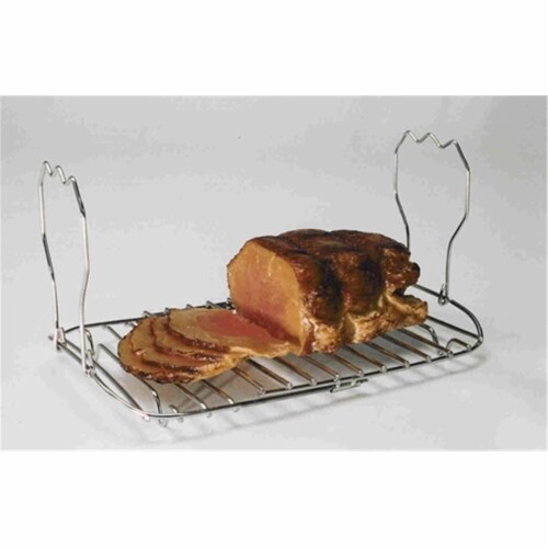 Expandable Roasting Rack Perspective: front