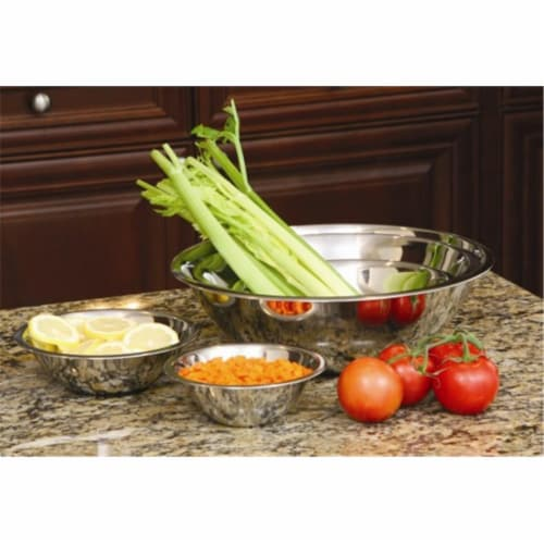 Stainless Steel Mixing Bowl Set - 5 Piece Perspective: front