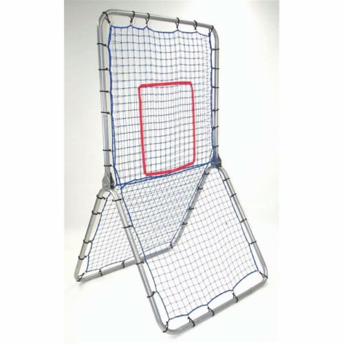 Multi-Sport Pitch Back Screen - 42 in. W x 72 in. H Perspective: front