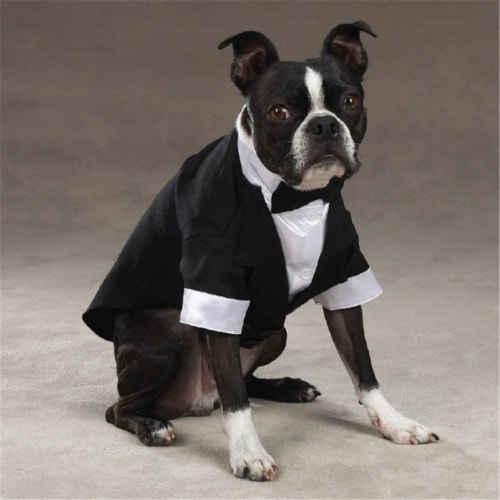 ESC Yappily Ever After Groom Tuxedo XXsm Perspective: front
