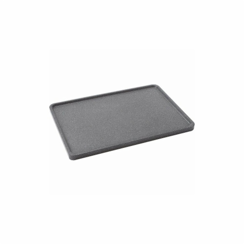 17.75 in. Reversible Grill & Griddle Pan Perspective: front