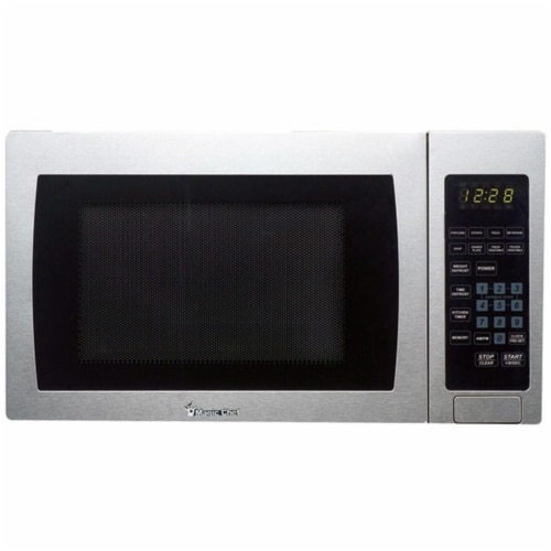 900 watt Microwave with Digital Touch - Stainless Steel, Metallic - 0.9 Cu ft Perspective: front