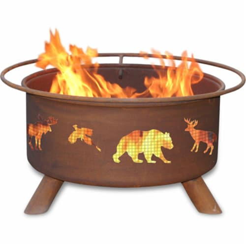 Wildlife Fire Pit Perspective: front