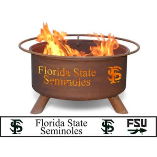 Florida State Fire Pit Perspective: front