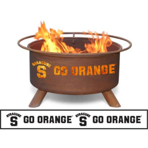 Syracuse Fire Pit Perspective: front