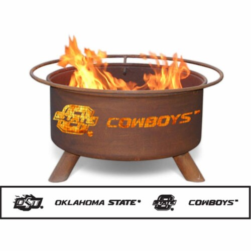 Oklahoma State Fire Pit Perspective: front