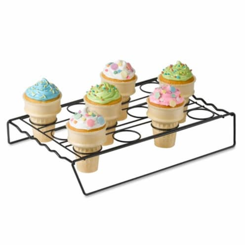 Home  Cupcake Cone Baking Rack Perspective: front
